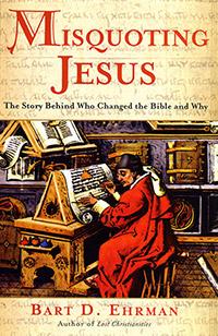 Misquoting Jesus cover