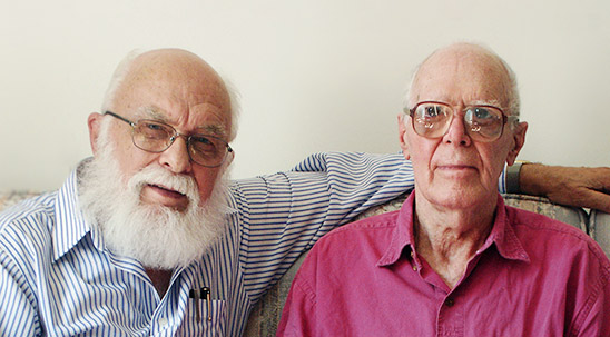 James Randi and Martin Gardner