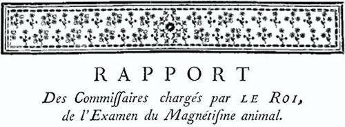 RAPPORT Des Commissaires charges par Le Roi de l'Examen du magetisine animal.