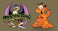 Dragon*Con and Skeptrack logos
