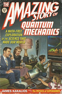 The Amazing Story of Quantum Mechanics (book cover)