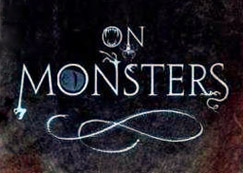 On Monsters (detail of book cover)