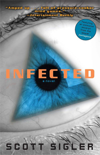 Infected (book cover)