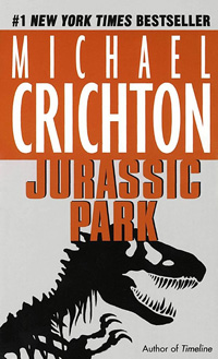 Jurassic Park (book cover)