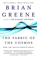 Fabric of the Cosmos (book cover)