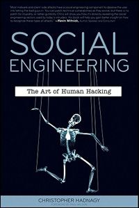 Social Engineering: The Art of Human Hacking (cover)