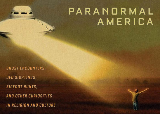 Paranormal America (detail of book cover)