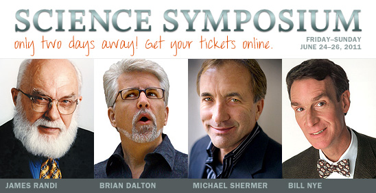 Science Symposium (Only two days away! Get your tickets online.)
