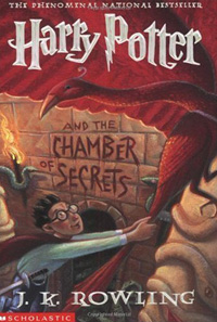 Harry Potter and the Chamber of Secrets (book cover)