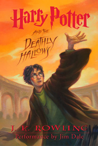 Harry Potter and the Deathly Hallows (book cover)