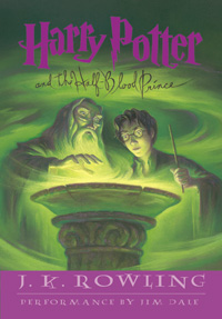 Harry Potter and the Half-Blood Prince (book cover)