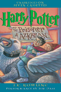 Harry Potter and the Prisoner of Azkaban (book cover)