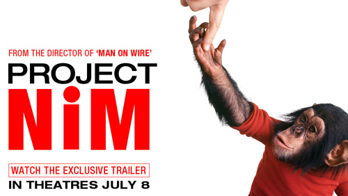 Project Nim movie trailer banner from Apple.com