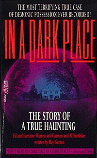 In a Dark Place (book cover)