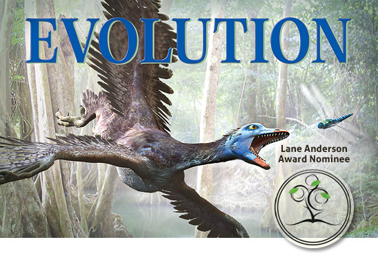 Evolution: How We and All Living Things Came to Be is a finalist for the Lane Anderson Award for Canadian science writing.