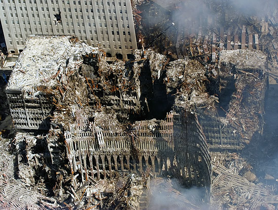 Ground Zero, New York City, N.Y. (Sept. 17, 2001)