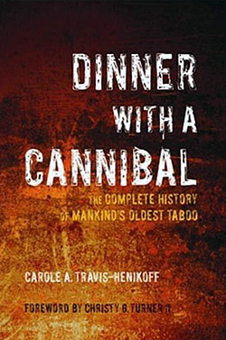 Dinner With A Cannibal (book cover)