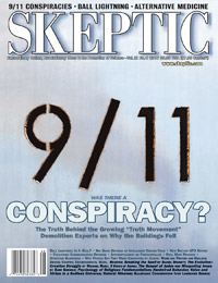 Cover of Skeptic magazine issue 12.4