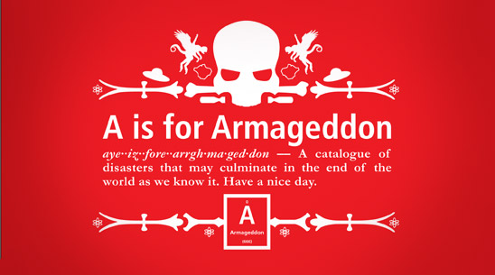 A is for Armageddon (cover)