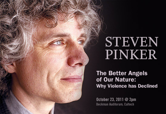 Steven Pinker (photo by Harry Borden)
