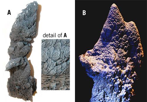 foundry stalagmites
