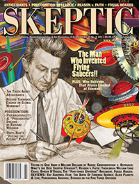 SKEPTIC vol. 16, no. 4 (cover)