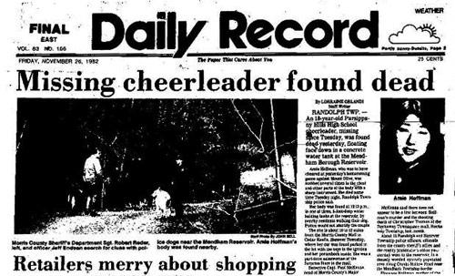 Mising Cheerleader Found Dead