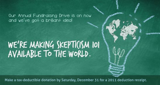 We're taking skepticism into the classroom! AND WE NEED YOUR HELP!