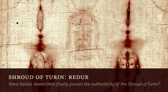 Shroud of Turin: Redux