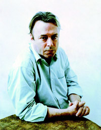 Christopher Hitchens (1949–2011). Photo by Christian Witkin.