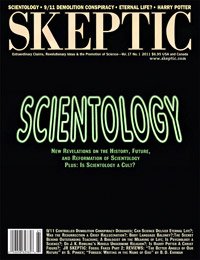 Skeptic magazine volume 17, number 1 (cover)