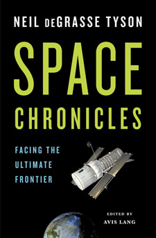 Space Chronicles (book cover)