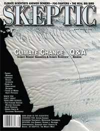 Skeptic magazine Volume 17, Number 2 (cover)