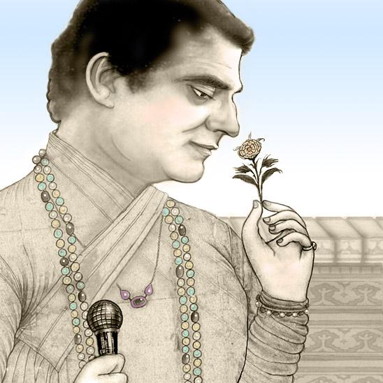 Deepak Chopra (illustration by Pat Linse)