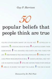 50 Popular Beliefs That People Think are True (book cover)