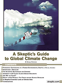 A Skeptic's Guide To Global Climate Change, by Donald Prothero (cover)