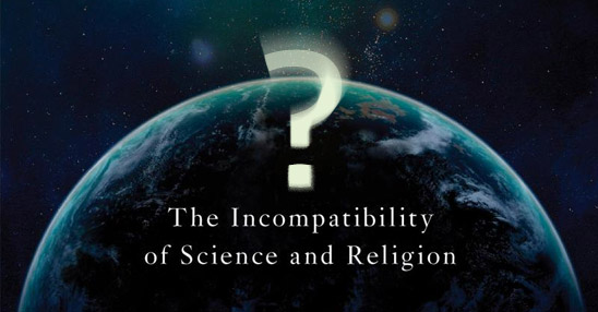 God and the Folly of Faith: The Incompatibility of Science and Religion (modified book cover detail)