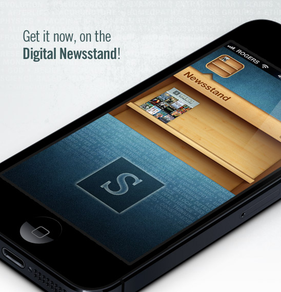 Downoad the App for free. Enjoy the 44-page Preview Issue on Us.