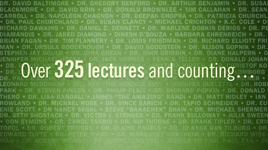 Over 325 lectures and counting