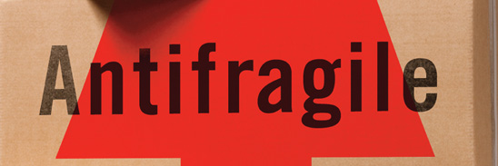 Antifragile: How to Live in a World We Don't Understand (launch poster detail)