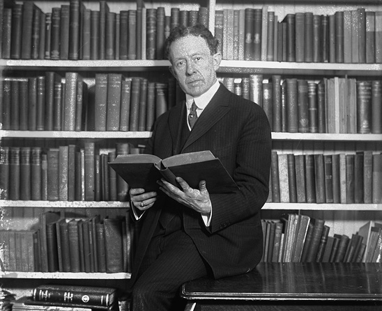 Joseph F. Rinn. George Grantham Bain Collection (Library of Congress)