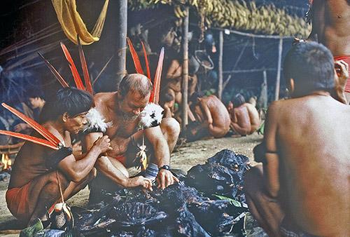 Chagnon, Alto Mavaca, 1986 (photo courtesy of Chagnon)