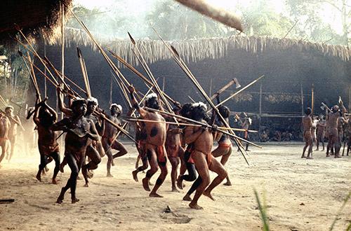Yanomamo dance (photo courtesy of Chagnon)