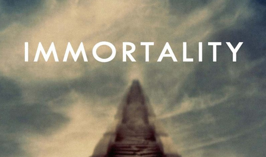 Immortality: The Quest to Live Forever and How It Drives Civilization (book cover detail)