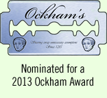 MonsterTalk is a 2013 Ockham Award Nominee