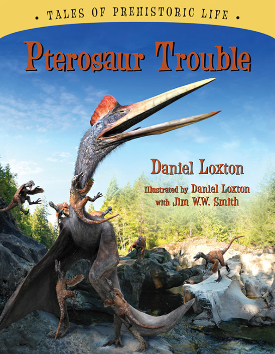 Pterosaur Trouble, a new book by Daniel Loxton, now available at Shop Skeptic