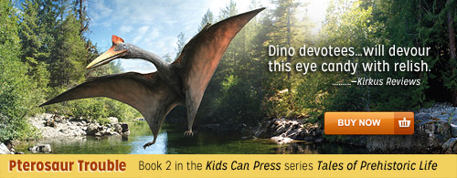 Pterosaur Trouble, Book 2 in the Tales of Prehistoric Life series. Order it from Shop Skeptic.