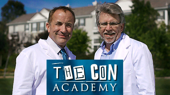 The Con Academy. Watch the video.