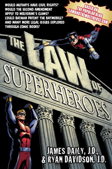 The Law of Superhoroes (book cover)