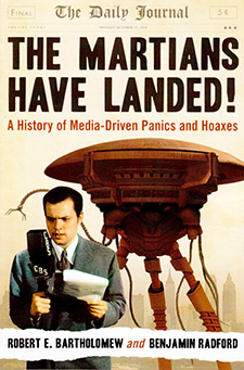The Martians Have Landed: A History of Media-driven Panics and Hoaxes (book cover)